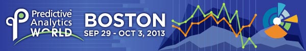 Predictive Analytics World 2013 Boston