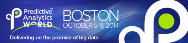 Predictive Analytics World Boston