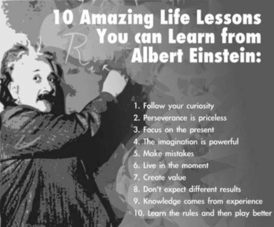 Einstein 10 lessons