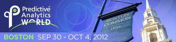Predictive Analytics World 2012 Boston