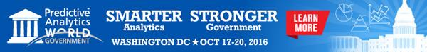 KDnuggets Predictive Analytics World for Government, Oct 17-20, Washington, DC