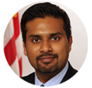 Keynote speaker Dr. Shantanu Agrawal