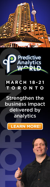 Predictive Analytics World Toronto 2013