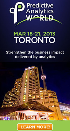 Predictive Analytics World Toronto