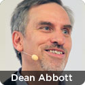 Dean Abbott, President, Abbott Analytics