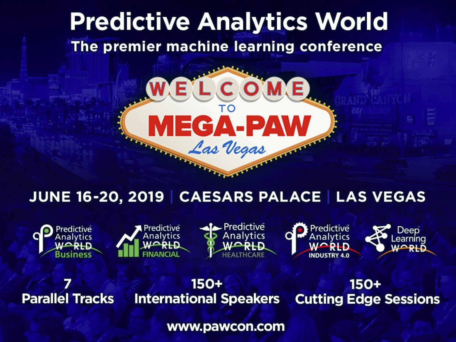 Five Reasons to Go to Mega-PAW, the Premier Machine Learning