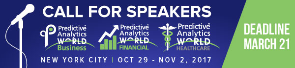 PAW Business NY, PAW Financial NY, PAW Healthcare NY Call for Speakers Deadline