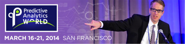Predictive Analytics World 2013 San Francisco