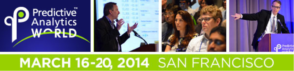 Predictive Analytics World 2014 San Francisco