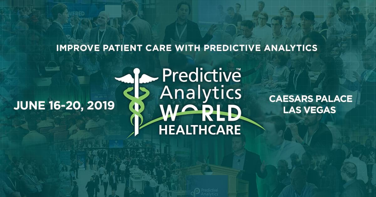 Predictive Analytics World for Healthcare Las Vegas June 16